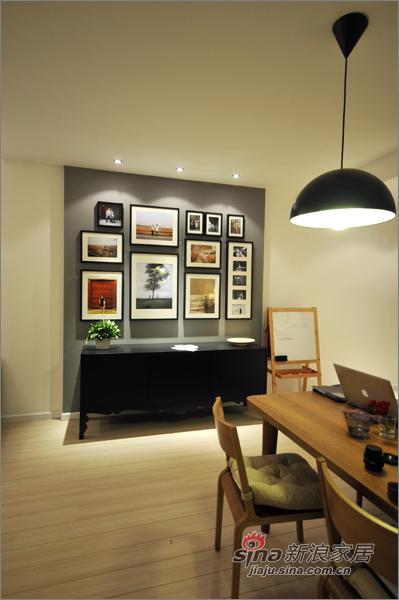 现代 三居 餐厅图片来自佰辰生活装饰在8万装110平纳维亚式简约家38的分享