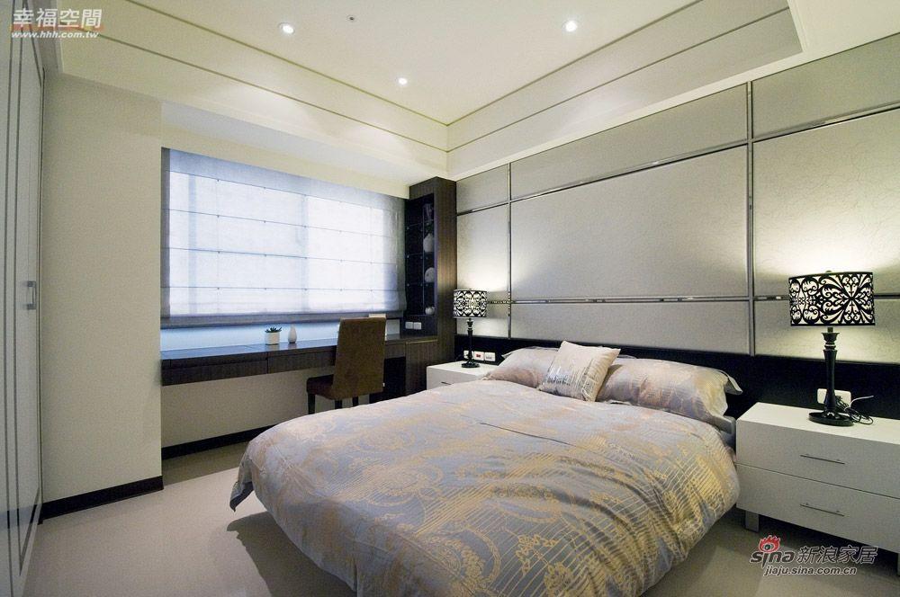 简约 二居 卧室图片来自幸福空间在92平的质朴生活2居美婚房85的分享
