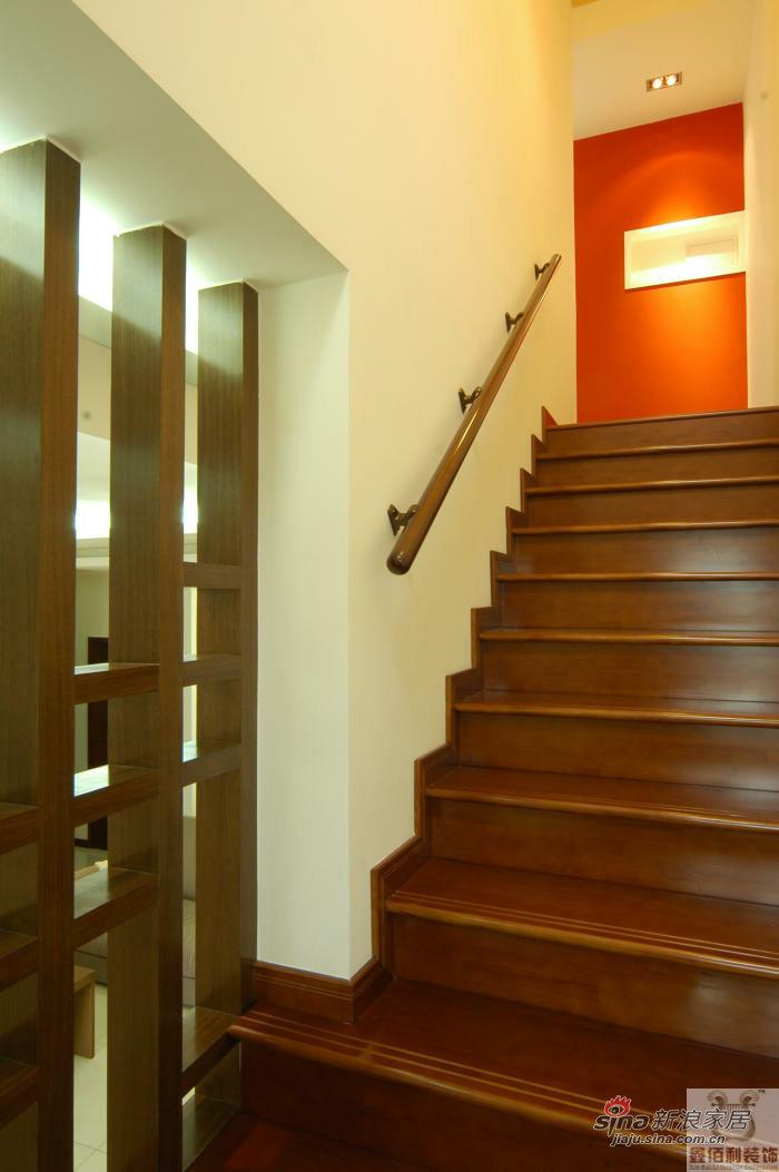 简约 复式 楼梯图片来自用户2738093703在5万营造117平现代简约复式 31的分享