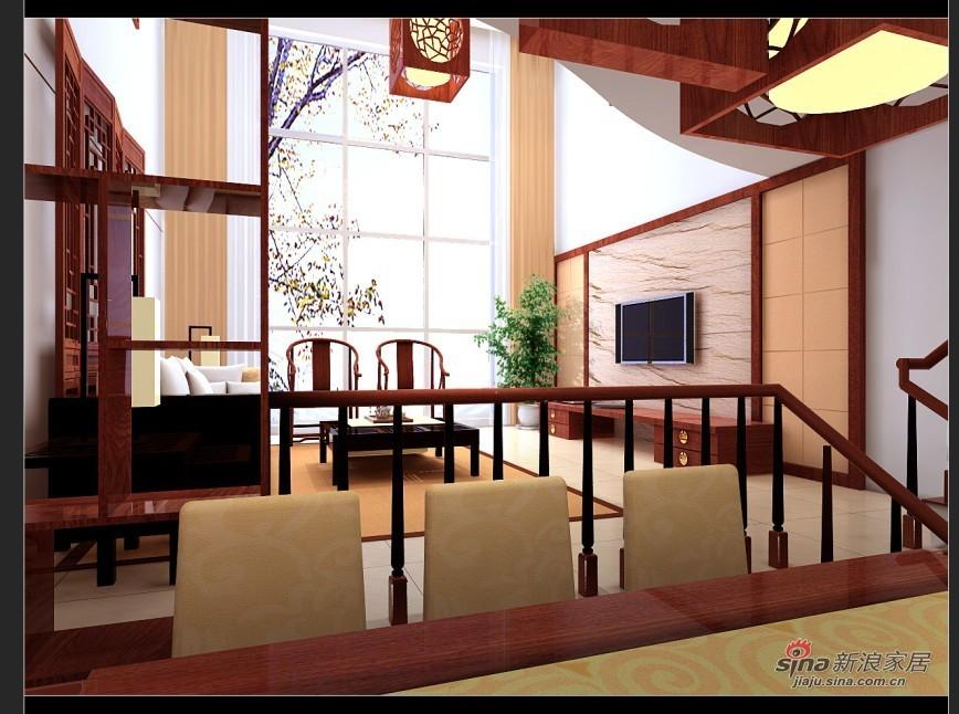 中式 四居 客厅图片来自用户1907696363在古色古香打造玉泉新城150平复式38的分享