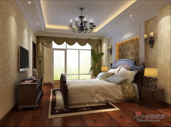 欧美式风格卧室设计