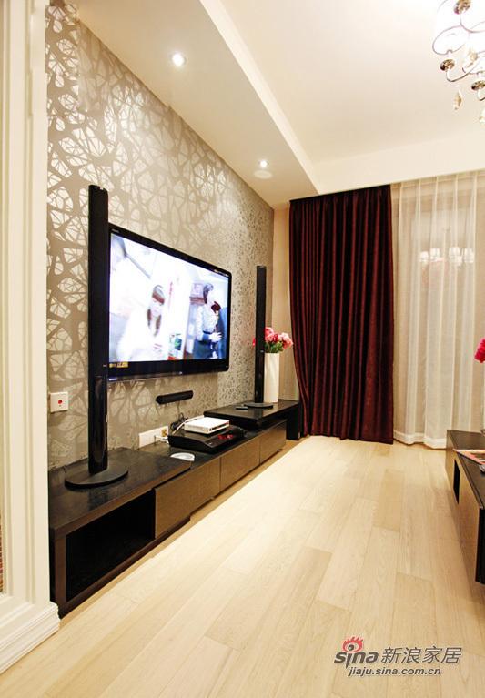 简约 二居 客厅图片来自用户2737786973在6.2万打造90平现代简约时尚二居室90的分享