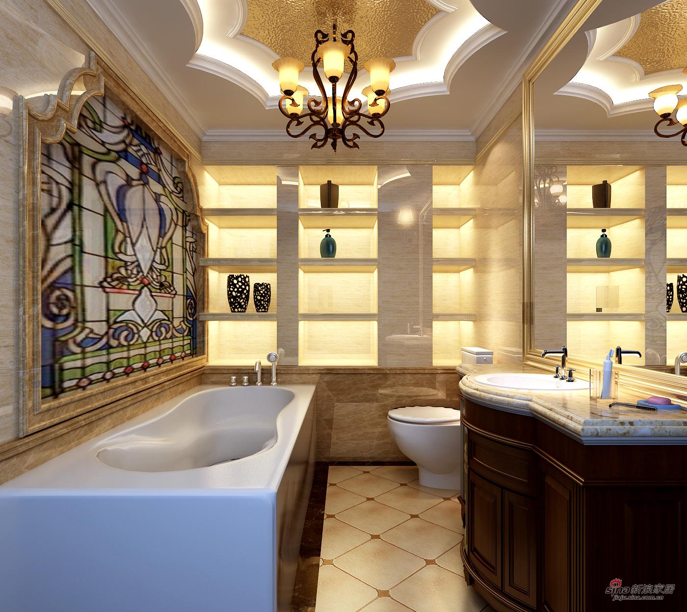 美式 三居 卫生间图片来自用户1907686233在北京华贸城29的分享