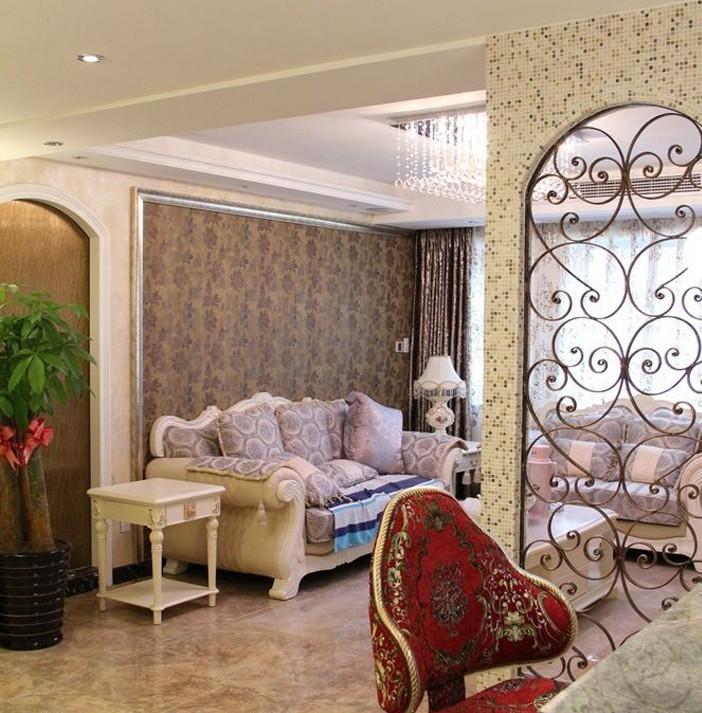 欧式 二居 客厅图片来自用户2746953981在6.8万铸造简欧110平爱家91的分享