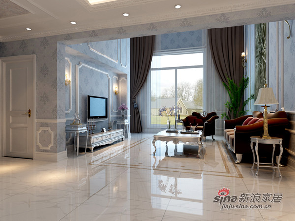 阿凯迪亚庄园370平米欧式设计
