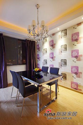 简约 二居 餐厅图片来自用户2559456651在6.8万打造98平两室一厅一温馨家76的分享