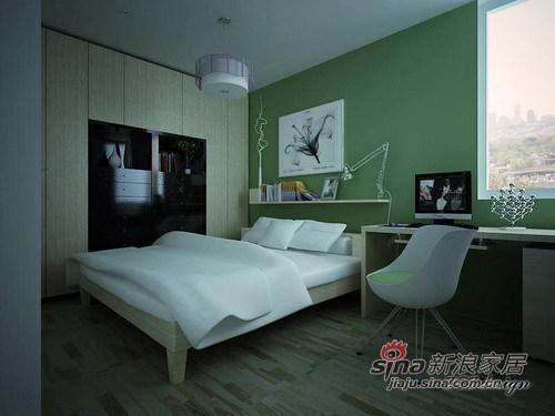 简约 二居 卧室图片来自用户2738813661在小户型大变化21的分享