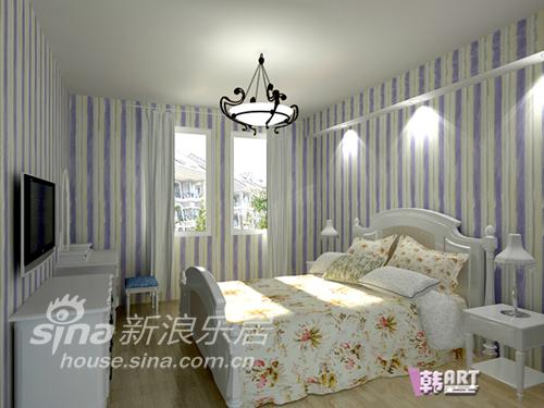 简约 二居 卧室图片来自用户2738829145在经典蓝白配地中海风格53的分享