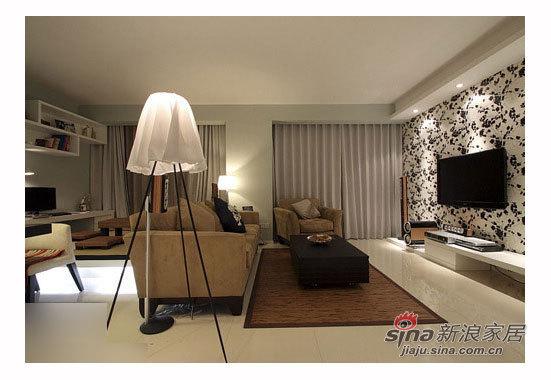 中式 二居 客厅图片来自用户1907661335在小主妇5万装83平居蜜月屋90的分享