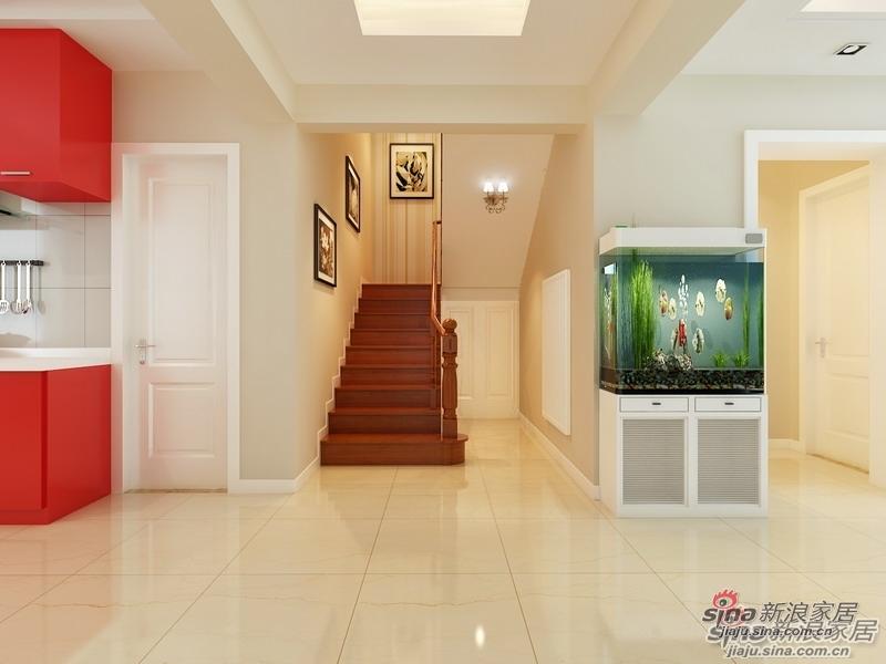 简约 复式 楼梯图片来自用户2737735823在时尚la妈为把180㎡复式森林美景引入起居生活34的分享