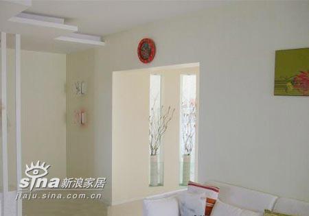 简约 二居 客厅图片来自用户2737786973在5万装90平米纯美2居52的分享