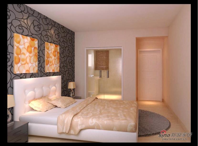 """简约 三居 客厅图片来自用户2739153147在5w9打造""""众里佰都""""120平温馨两居10的分享"""