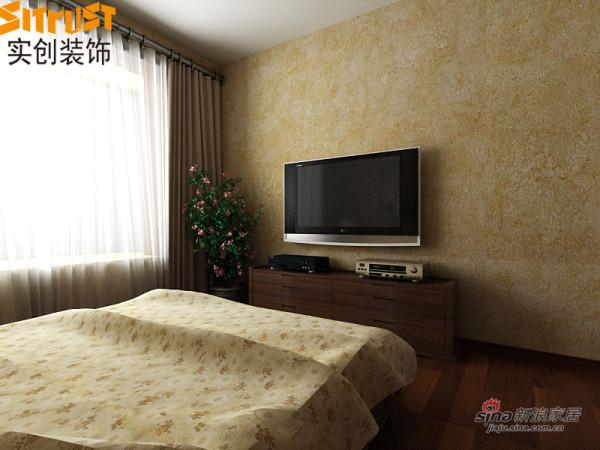 中式 二居 卧室图片来自用户1907658205在功能化现代中式风格营造出温馨舒适两居室44的分享