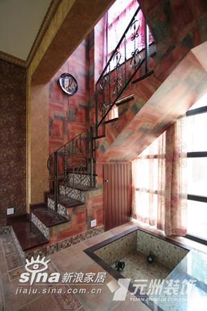 欧式 别墅 楼梯图片来自用户2746948411在原生墅94的分享