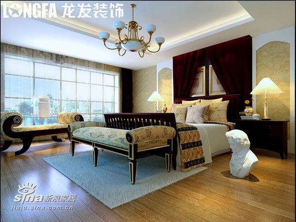欧式 别墅 卧室图片来自用户2745758987在高调却不张扬,华丽而不累赘73的分享