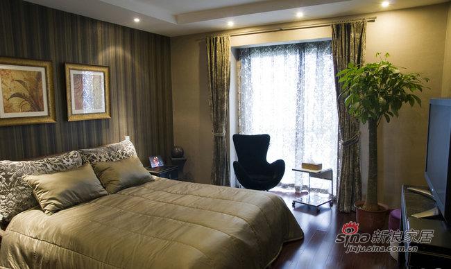 简约 三居 卧室图片来自装修微日记在9万打造160平现代简约低奢美家37的分享