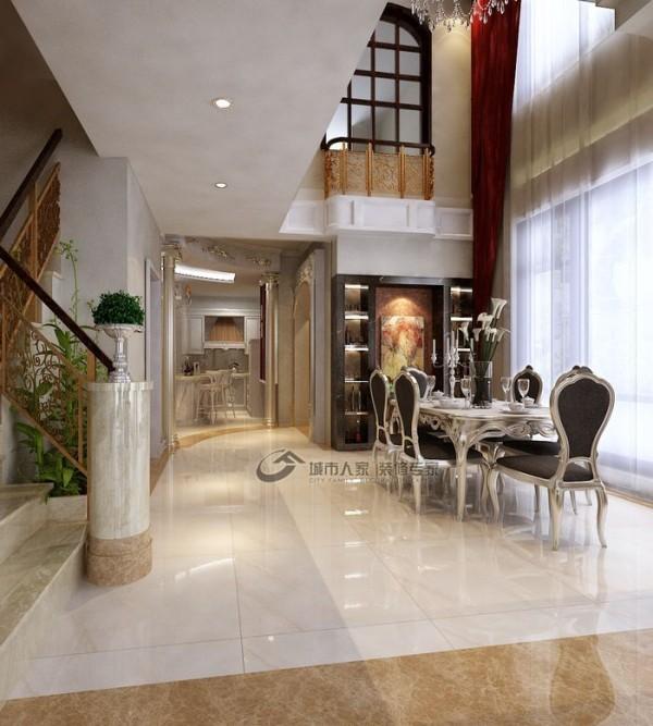 餐厅、手扶梯