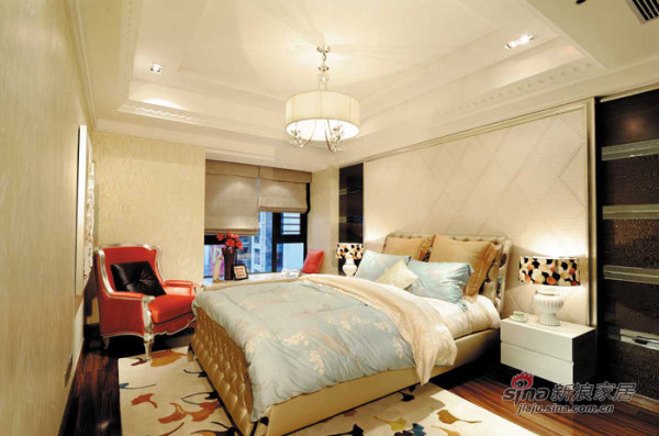 欧式 别墅 卧室图片来自用户2746869241在新古典奢华风格——锦园样板房二84的分享