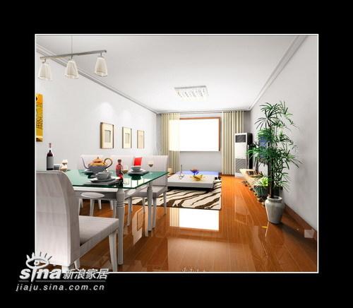 简约 二居 餐厅图片来自用户2737735823在简约大方两居室23的分享