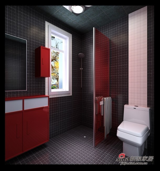 简约 三居 卫生间图片来自用户2738829145在5.7万装88平新时尚简约小3居38的分享