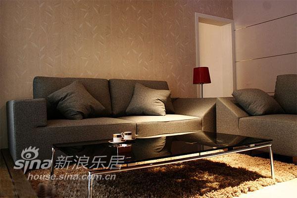 """简约 一居 客厅图片来自用户2737735823在小户型一样""""耍大牌""""86的分享"""