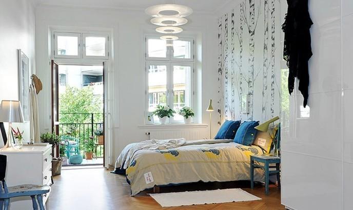简约 二居 卧室图片来自用户2559456651在6.6万现代宜家风格两居室爱家23的分享