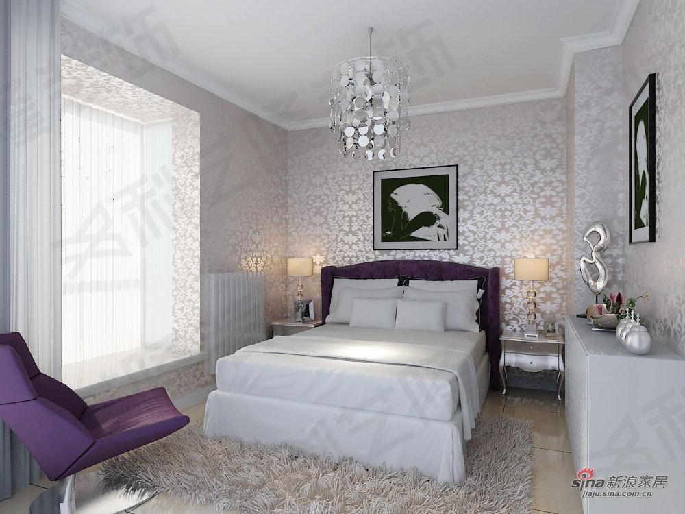 欧式 一居 卧室图片来自用户2772873991在科艺隆装饰一居室新欧式风格17的分享