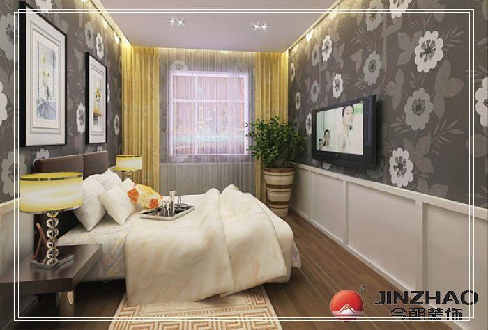 混搭 三居 卧室图片来自用户1907691673在6打造120平米时代奥城现代简约风范~64的分享