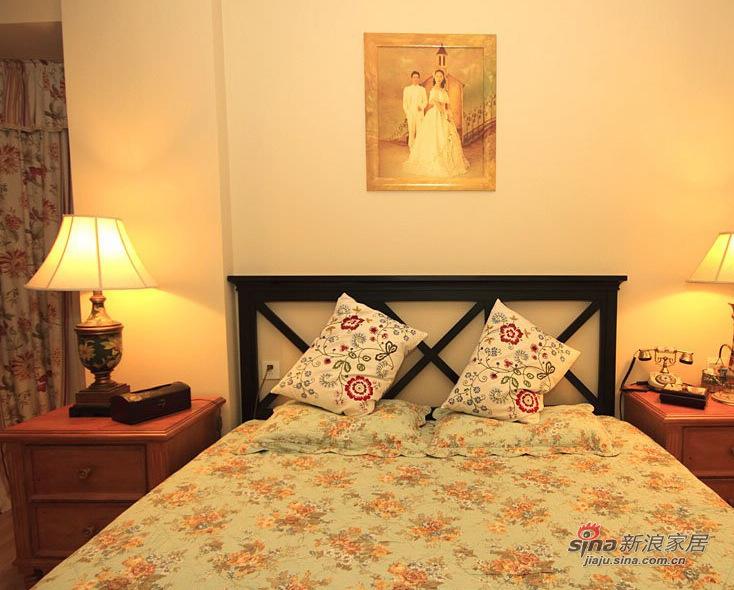 田园 三居 卧室图片来自用户2557006183在88平花18万打造英式乡村屋31的分享