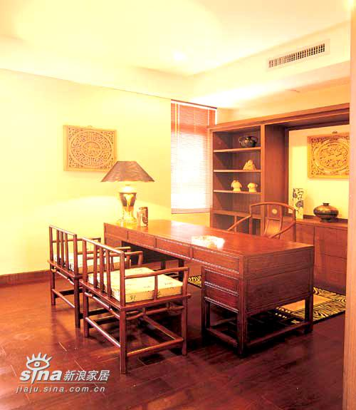 中式 别墅 书房图片来自用户2737751153在中式经典61的分享