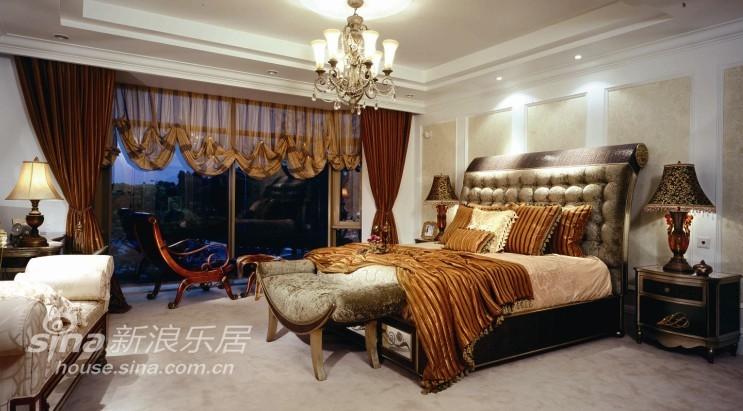 欧式 别墅 卧室图片来自用户2772873991在杭州西子湾别墅49的分享