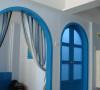 地中海拱形门