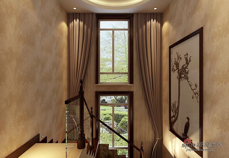 中式 复式 楼梯图片来自用户1907661335在350平中式风格古韵典雅复式爱家21的分享