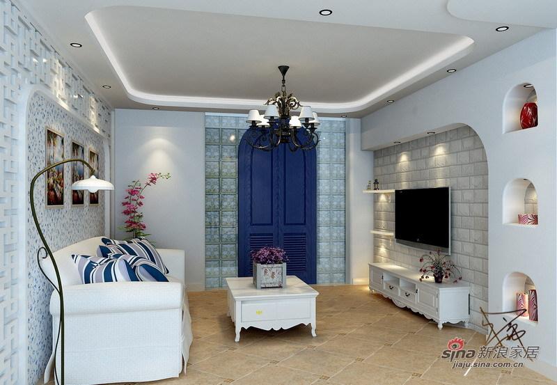 简约 一居 客厅图片来自用户2737735823在50平米简约地中海14的分享