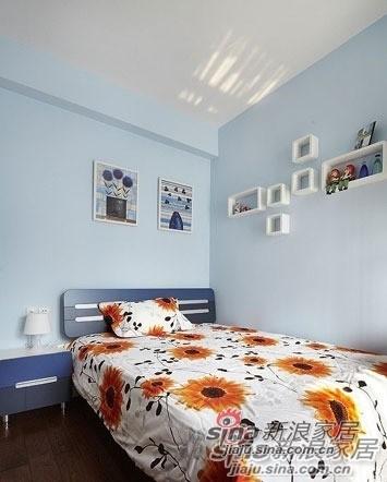 简约 一居 儿童房图片来自用户2737782783在看100㎡如何用黑白色改造成温馨三口之家!90的分享