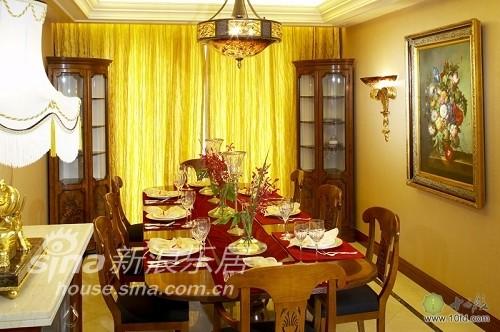 餐厅为美式风格