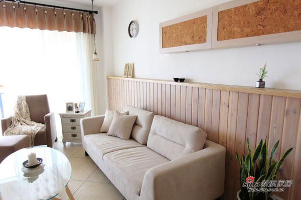 简约 三居 客厅图片来自用户2737786973在4.8万打造100平小清新日式阳光3居95的分享