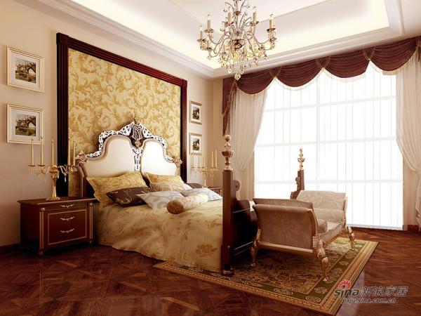 卧室-典型的欧式古典设计