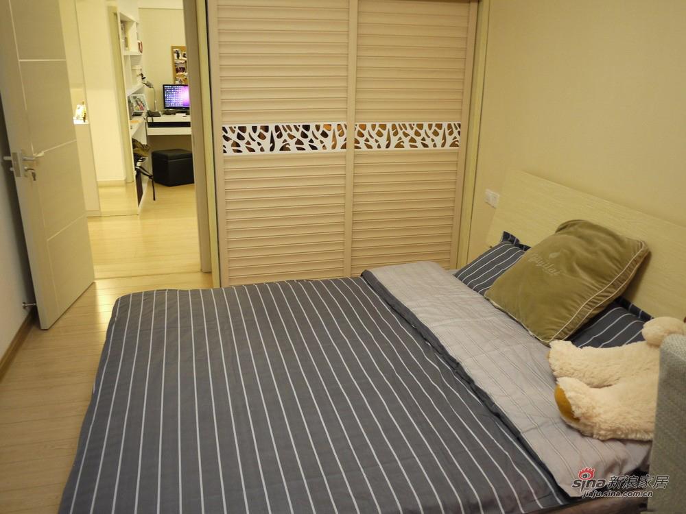 现代 三居 卧室图片来自佰辰生活装饰在【高清】92平现代时尚温馨主义三口之家38的分享