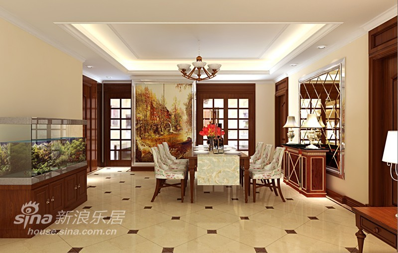 欧式 四居 餐厅图片来自用户2772856065在高贵大气的简欧风范58的分享