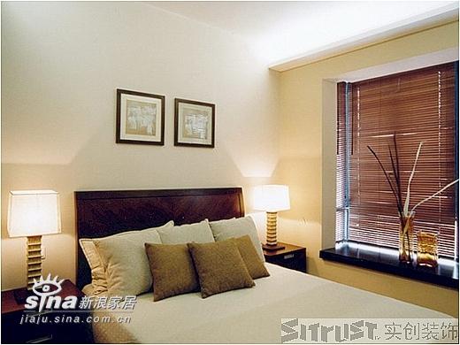 简约 三居 卧室图片来自用户2737782783在实创装饰万科四季花城50的分享