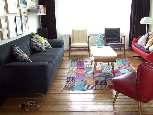 这个沙发是不是很简单