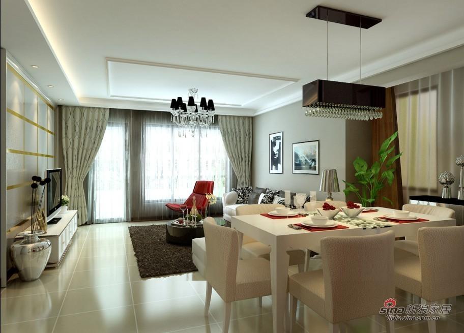 简约 其他 客厅图片来自用户2738820801在孔雀城简约别墅设计50的分享