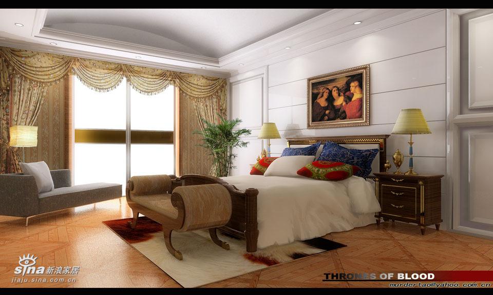 """欧式 别墅 卧室图片来自用户2557013183在阔达装饰——艺""""墅""""59的分享"""