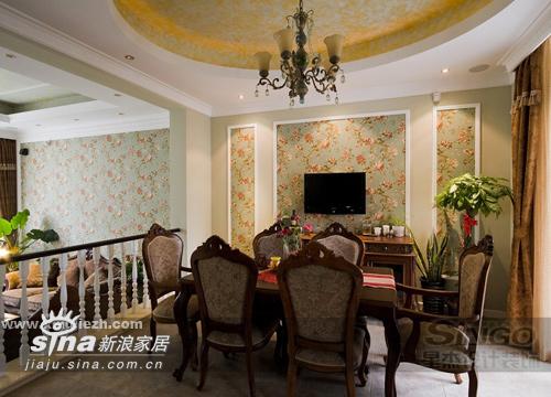 欧式 别墅 餐厅图片来自用户2746889121在功能齐全的别墅空间28的分享