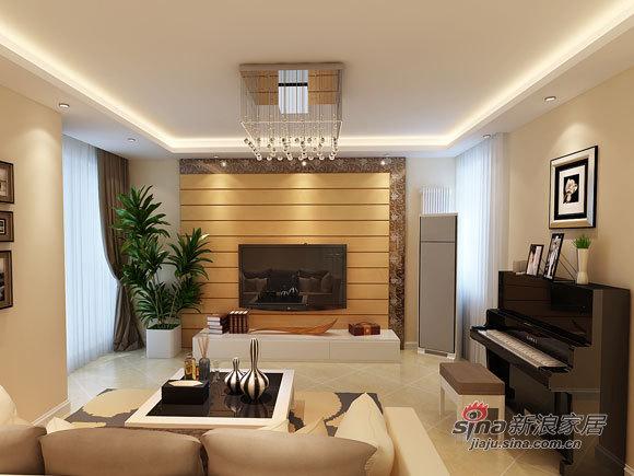 简约 一居 客厅图片来自用户2737735823在6.2万打造81平简约明亮2居96的分享