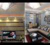 客厅及电视墙