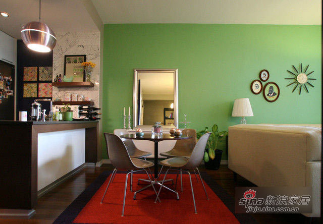简约 一居 客厅图片来自用户2739153147在50平全开放 绝对不要压抑感35的分享