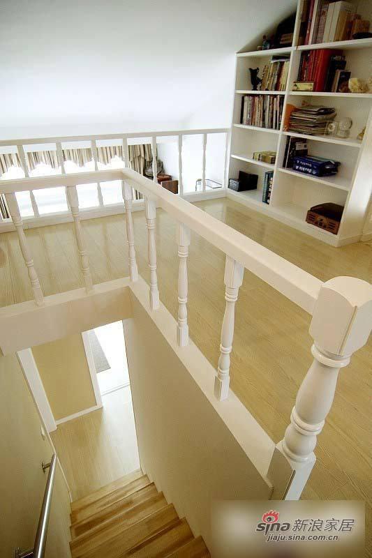 简约 loft 楼梯图片来自用户2738813661在旧房改造 8万半包126平时尚个性窝46的分享