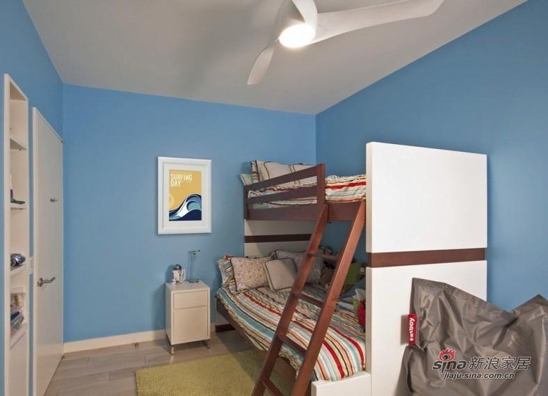 简约 二居 儿童房图片来自用户2558728947在6.5万打造98平经济实用简约两居室55的分享